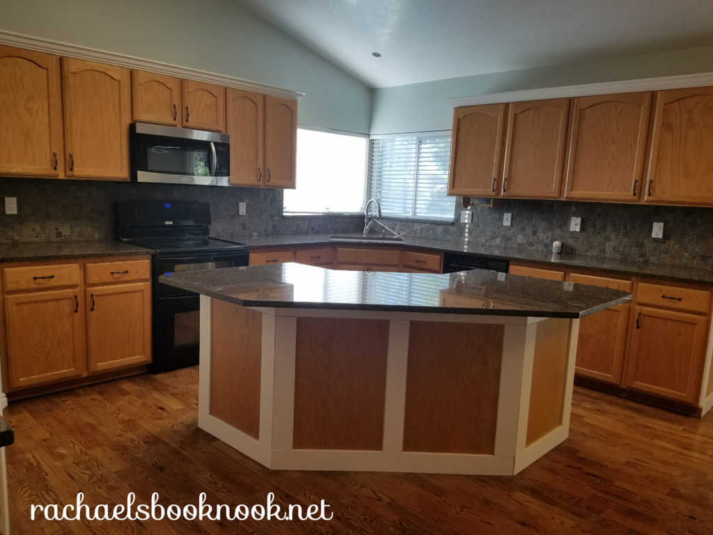 Our Coastal Home- Adding Crown Molding to Kitchen Cabinets ...