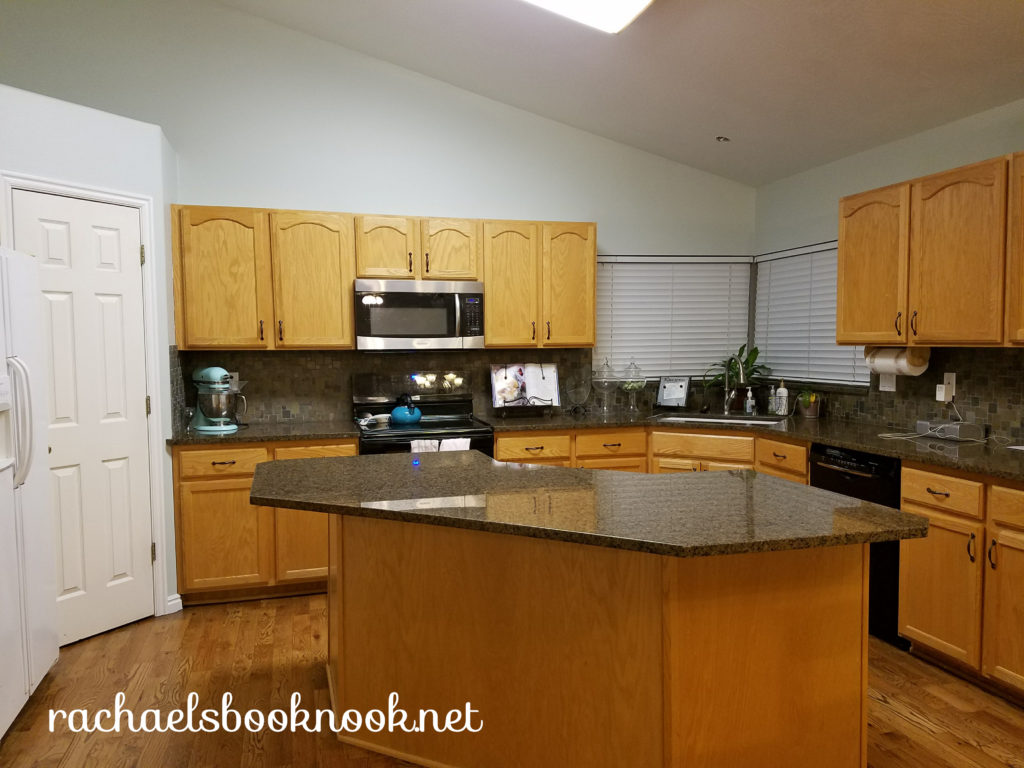 Our Coastal Home Adding Crown Molding To Kitchen Cabinets